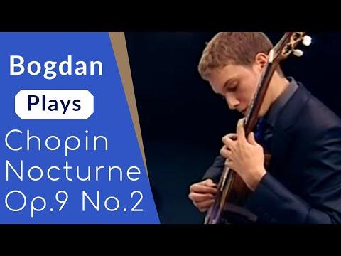 Bogdan Mihailescu plays Chopin - Nocturne op 9 no 2