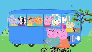 The Wheels on The Bus Peppa Pig HD - The Bus of Peppa Pig Nursery Rhymes