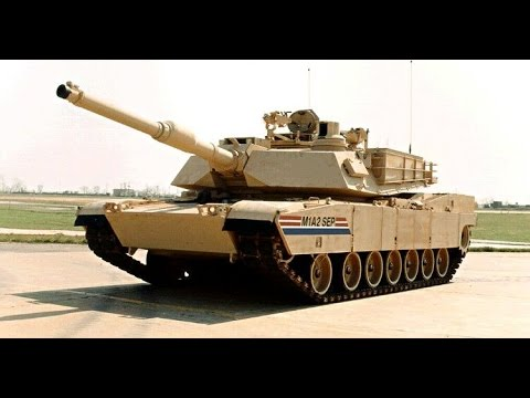 M1A2 Tank Running over IED Car Bomb in Iraq