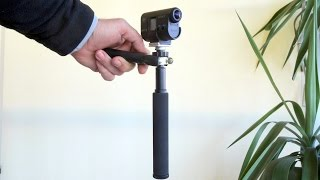 Mini DIY Steadycam with 2-Axis Gimbal