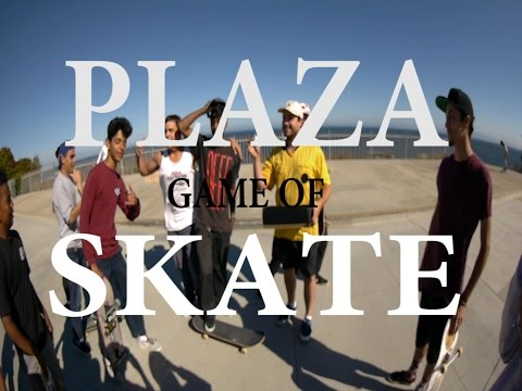 PLAZA GAME OF SKATE FINAL - BRYANT VS DEREK