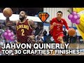 JellyFam's Jahvon Quinerly Has the KYRIE IRVING Layup Package!!   Top30 Craftiest Finishes