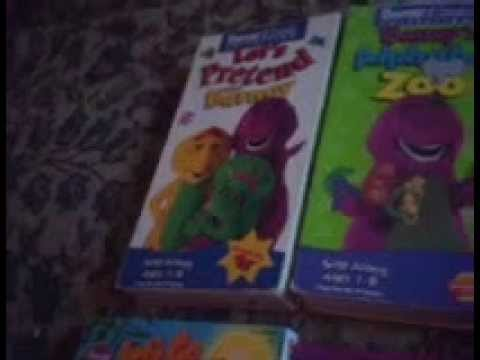 My Barney Videos & Dvds Collection Update video