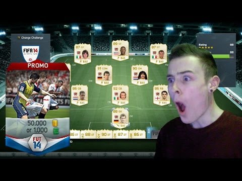 FIFA 14 NEXT GEN - INSANE 50K RARE PLAYER PACKS w/ FACECAM