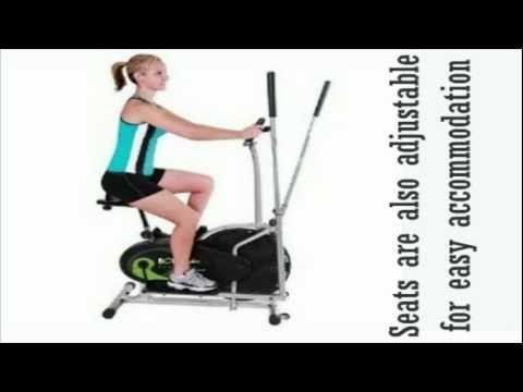 Best Elliptical Machines - Body Rider Trainer with Seat