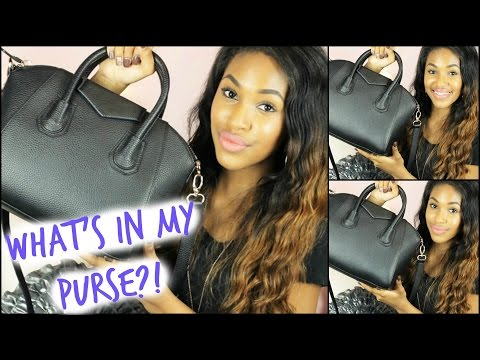 What's In My Purse?!