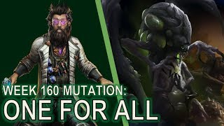 Starcraft II: Co-Op Mutation #160 - One For All [Infestors somehow work??]