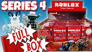 NEW ROBLOX Series 4 FULL BOX Red Mystery Boxes Opening Toy Review | Trusty Toy Channel
