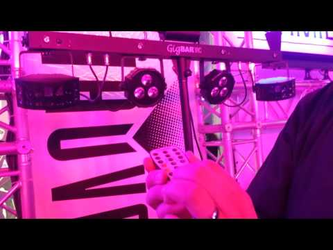 #chauvetdj gig bar irc remote explained from #ldi