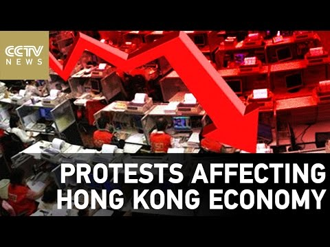 Protests affecting Hong Kong economy