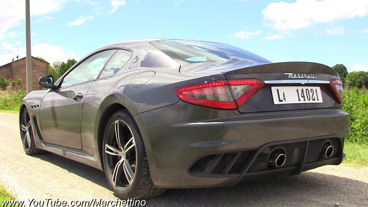 Maserati Granturismo Mc Stradale Pure Sound Youtube