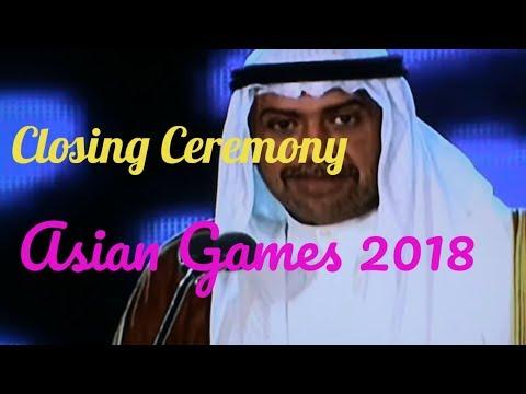 Closing Ceremony Asian Games 2018 \Jokowi-JK\Ahmad Al Fahad Al Sabah thumbnail