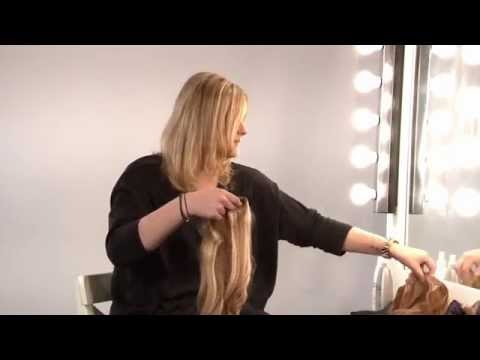 Beauty Works   How To Use The Deluxe Clip-In Hair Extensions
