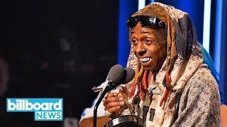 Lil Wayne Tells the Story of How Uncle Bob Saved His Life at BET Hip-Hop Awards   Billboard News