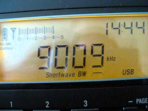 Shortwave Radio - Automated Morse Code - 9009kHz