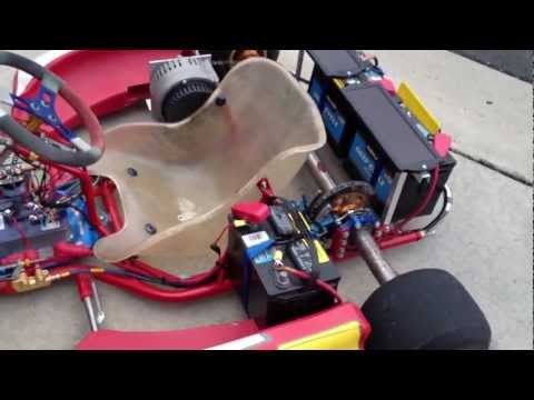 2008 Birel R31 Electric-Powered Go Kart