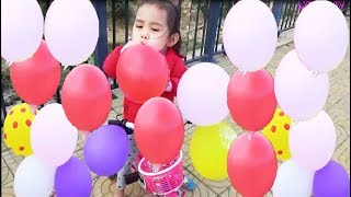 Learn colors for Kids with Balloons