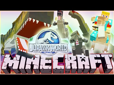 MineCraft Jurassic World RolePlay How To Train Your Dino Ep.2