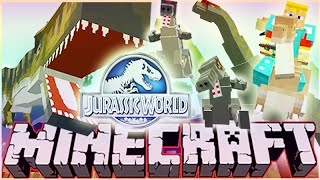 "MineCraft Jurassic World ""RolePlay"" How To Train Your Dino Ep.2"