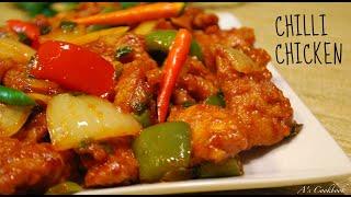Easy Chilli Chicken Recipe (Indo-Chinese)