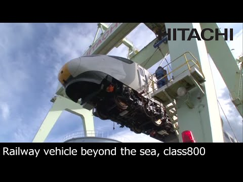 "Class 800 Train for the ""IEP"" in the UK - Hitachi"