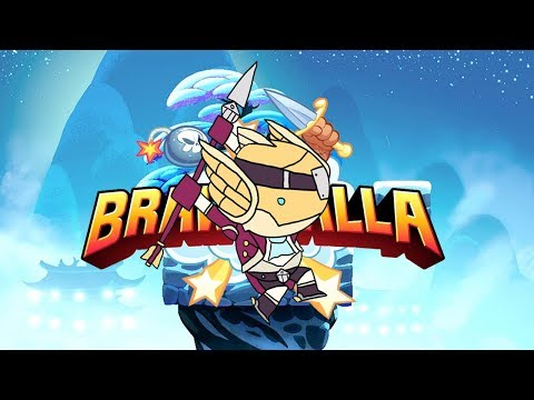 Dashing will be the death of me   Brawlhalla experimental funny moments+CC giveaway