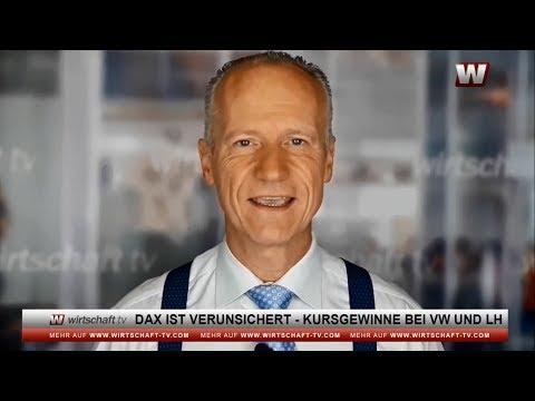 Wirtschaft & Börse: DAX ist verunsichert - Kursgewinne bei VW und LH