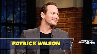 Patrick Wilson Talks Fighting Liam Neeson