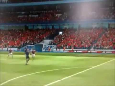 Fifa 2013 : Milan AC - Arsenal : But Insolite de Montolivo