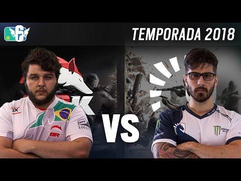 [BR6] BRK E-SPORTS vs TEAM LIQUID (Temporada 2018) - Rainbow Six Siege