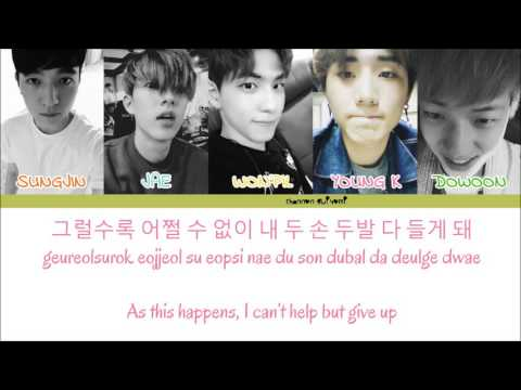DAY6 - First Time Color Coded Lyrics [Han/Rom/Eng]