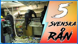 5 SVENSKA RÅN SOM MISSLYCKADES!! (Reagerar)