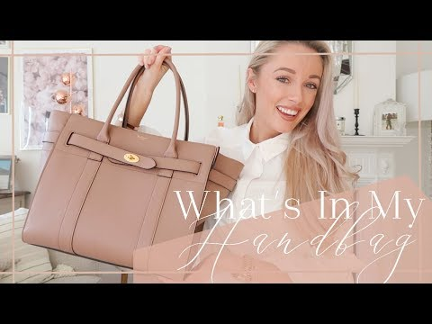 WHAT'S IN MY HANDBAG // Mulberry Zipped Bayswater Review  // Fashion Mumblr