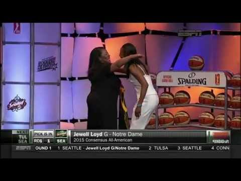 Jewell Loyd: 1st Pick of the 2015 WNBA Draft