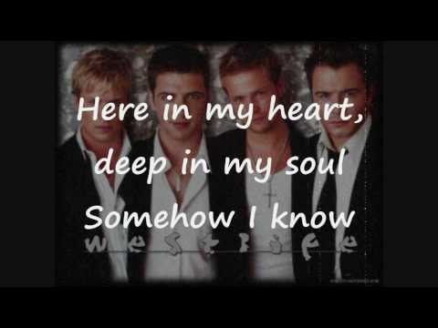 Best love song ever : Westlife - As love is my witness [Lyrics Video]