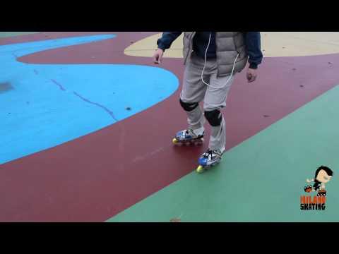 Milanoskating Freestyle: Slalom tacco-punta