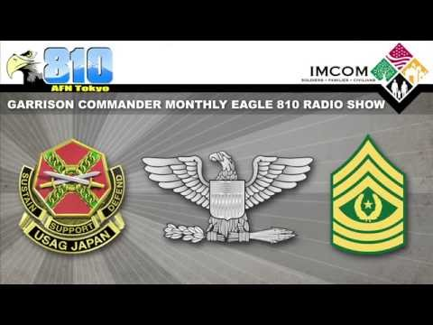 U.S. Army Garrison Japan Commander Monthly Radio Show June 4, 2015