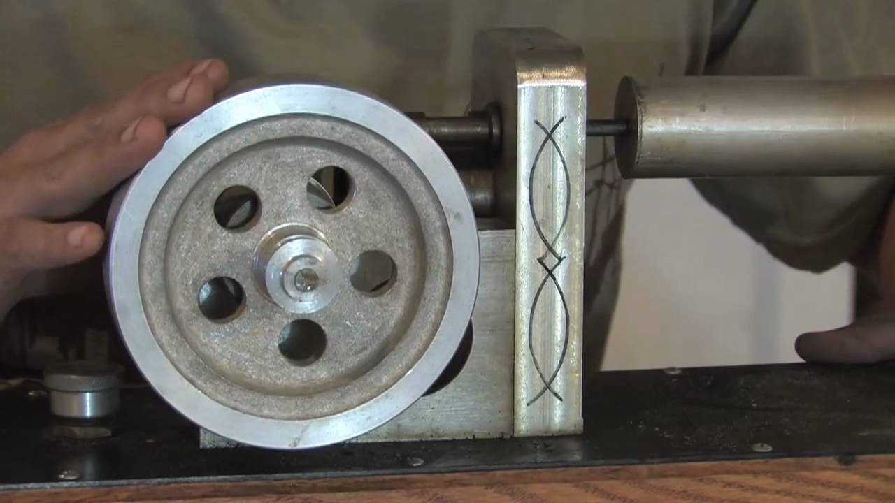 Free Power Stirling Engine Taking One Apart Hot Air E