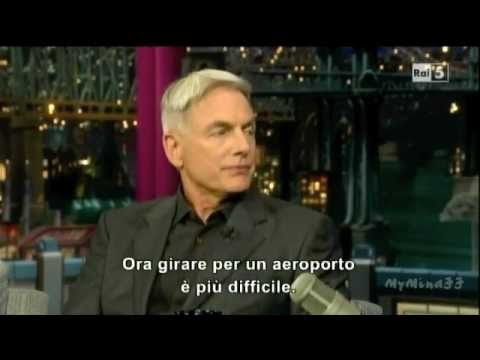 Mark Harmon @ Late Show with David Letterman 03/11/11 - Sub ITA