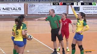 TURKEY X BRAZIL | SEMI-FINAL | WOMEN'S WORLD DEAF HANDBALL CHAMPIONSHIPS 2018