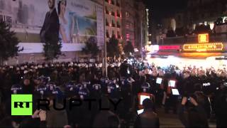 Turkey: Internet censorship bill sparks violent clashes in Istanbul