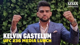 UFC 236: Kelvin Gastelum Media Lunch - MMA Fighting
