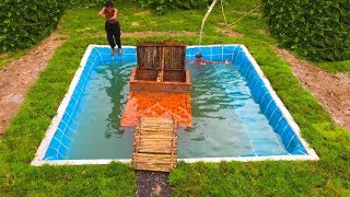 Build Secret Home Under Swimming Pool Part 2