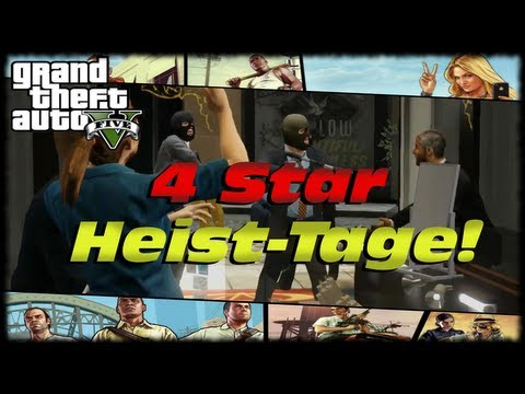 GTA 5 4 Star Jewelry Store Heist Mini-Tage! Alternate Guns Blazing Heist Method! $1 Million Cut!
