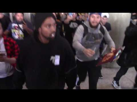 Kanye West Arriving At The Los Angeles International Airport
