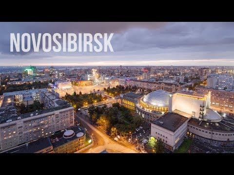 Novosibirsk. Siberia. Timelapse & Hyperlapse