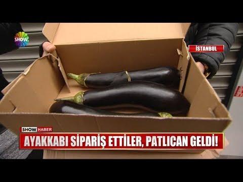 Ayakkabı sipariş ettiler, patlıcan geldi!