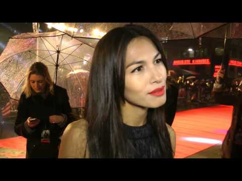 Elodie Yung Interview - G.I. Joe Retaliation Premiere