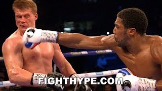 ANTHONY JOSHUA VS. ALEXANDER POVETKIN FULL FIGHT AFTERMATH; IMMEDIATE REACTIONS POST-FIGHT