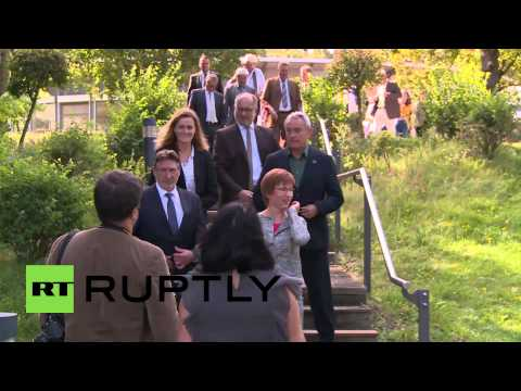 Germany: Ministers step up for Russian sanction talks